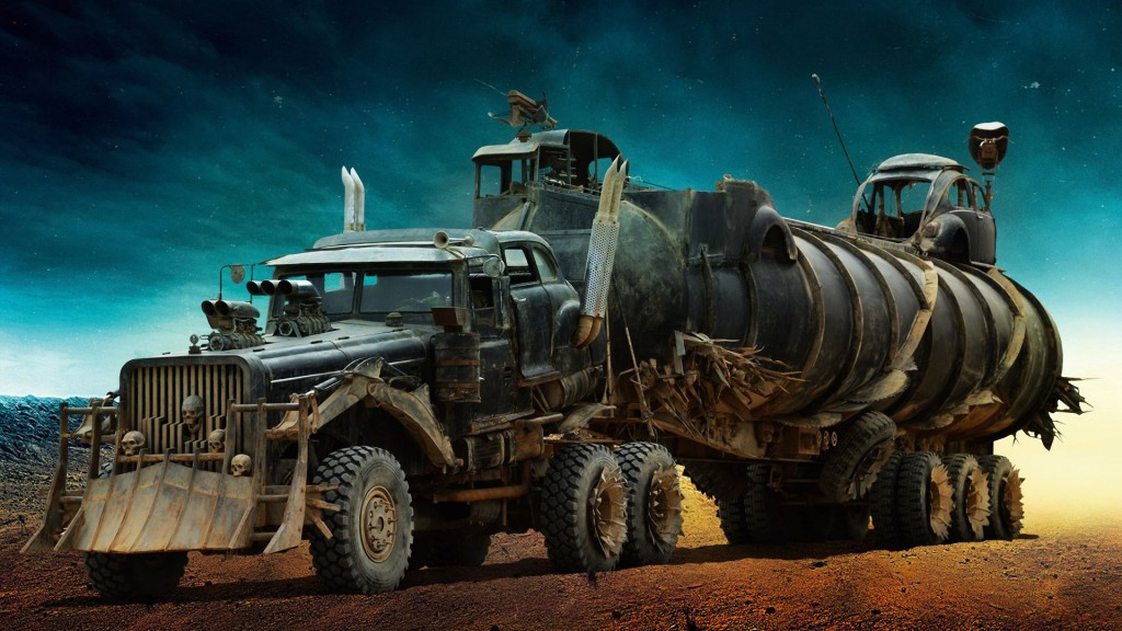 Mad Max Fury Road Movie Truck Vehicle HD Wallpaper   Stylish HD 1024x576