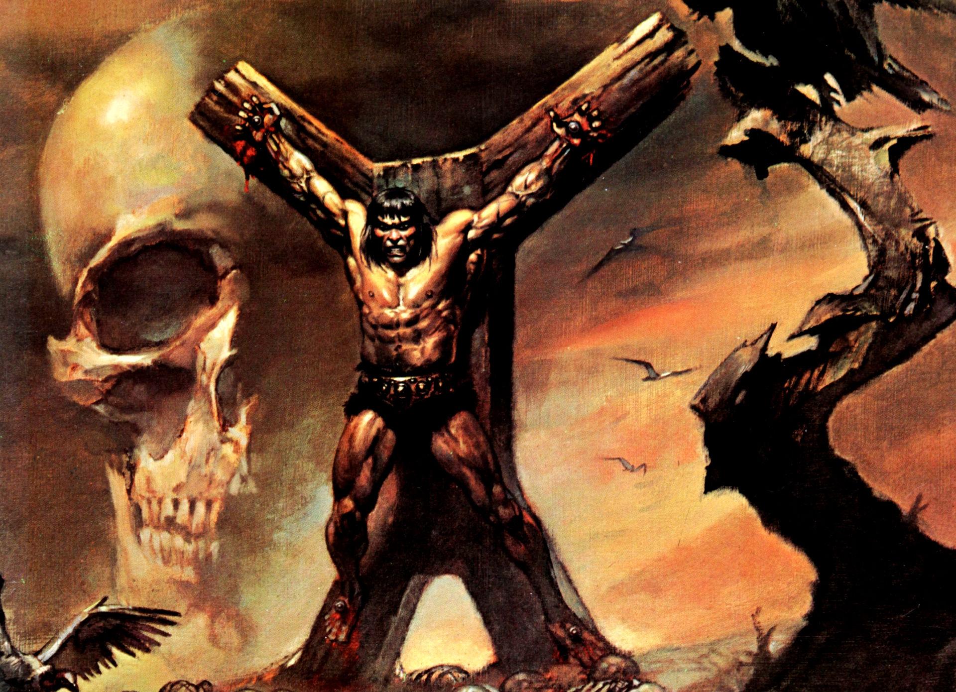 Conan The Barbarian Art Wallpaper Conan the barbarian g 1920x1390