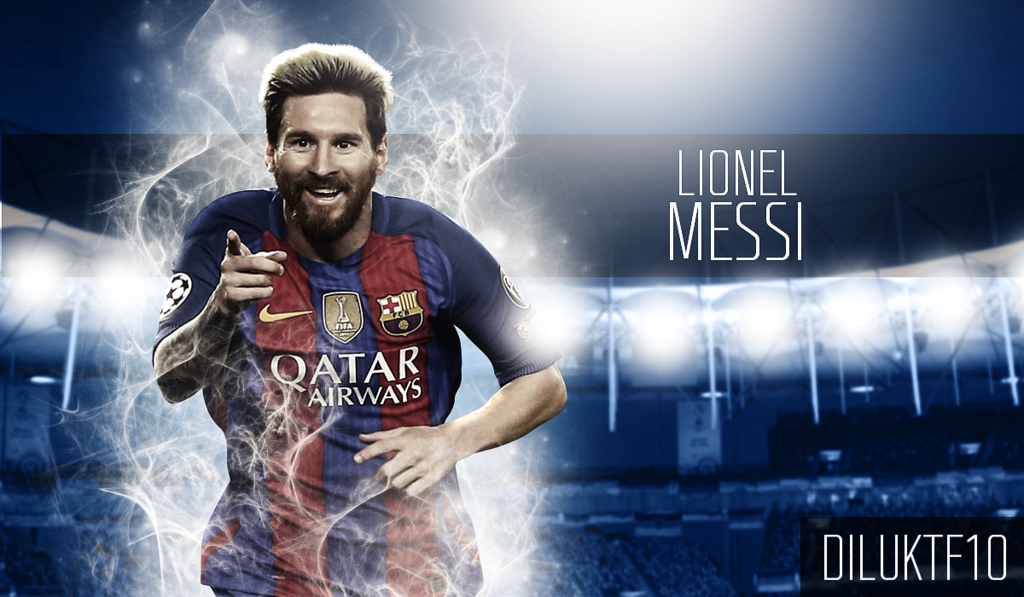 Lionel Messi 2016 17 Wallpaper by DilukTharuka10 on 1024x597