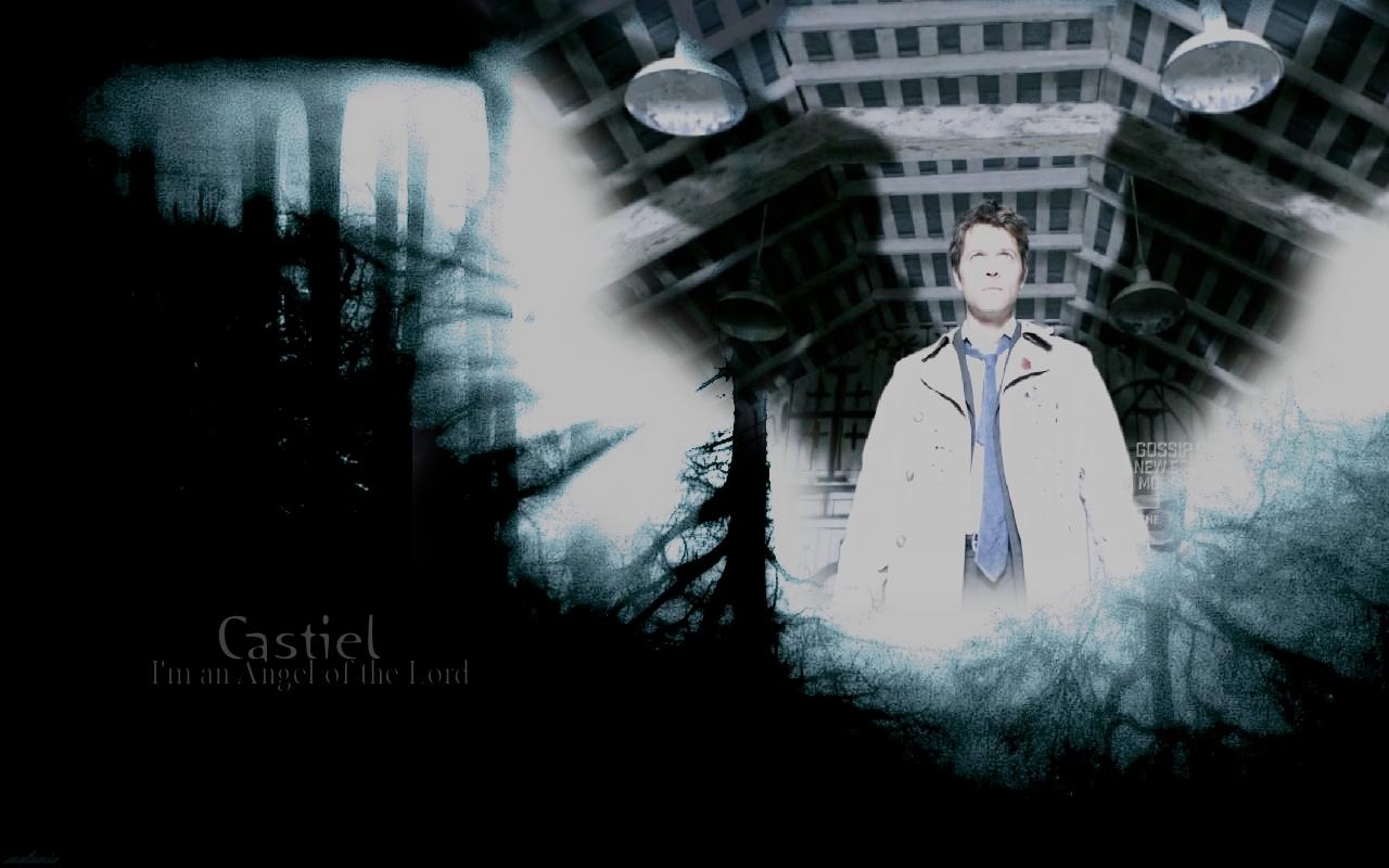 Castiel   Supernatural Wallpaper 7818520 1280x800