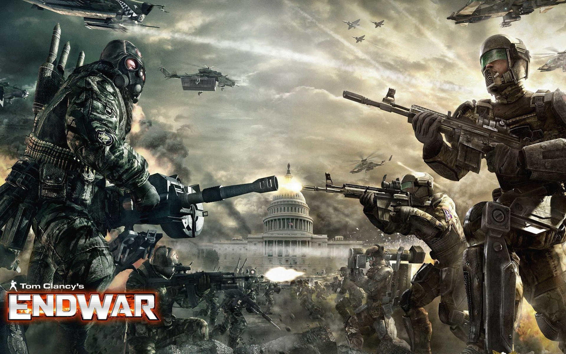 8 Tom Clancys EndWar HD Wallpapers Background Images 1920x1200