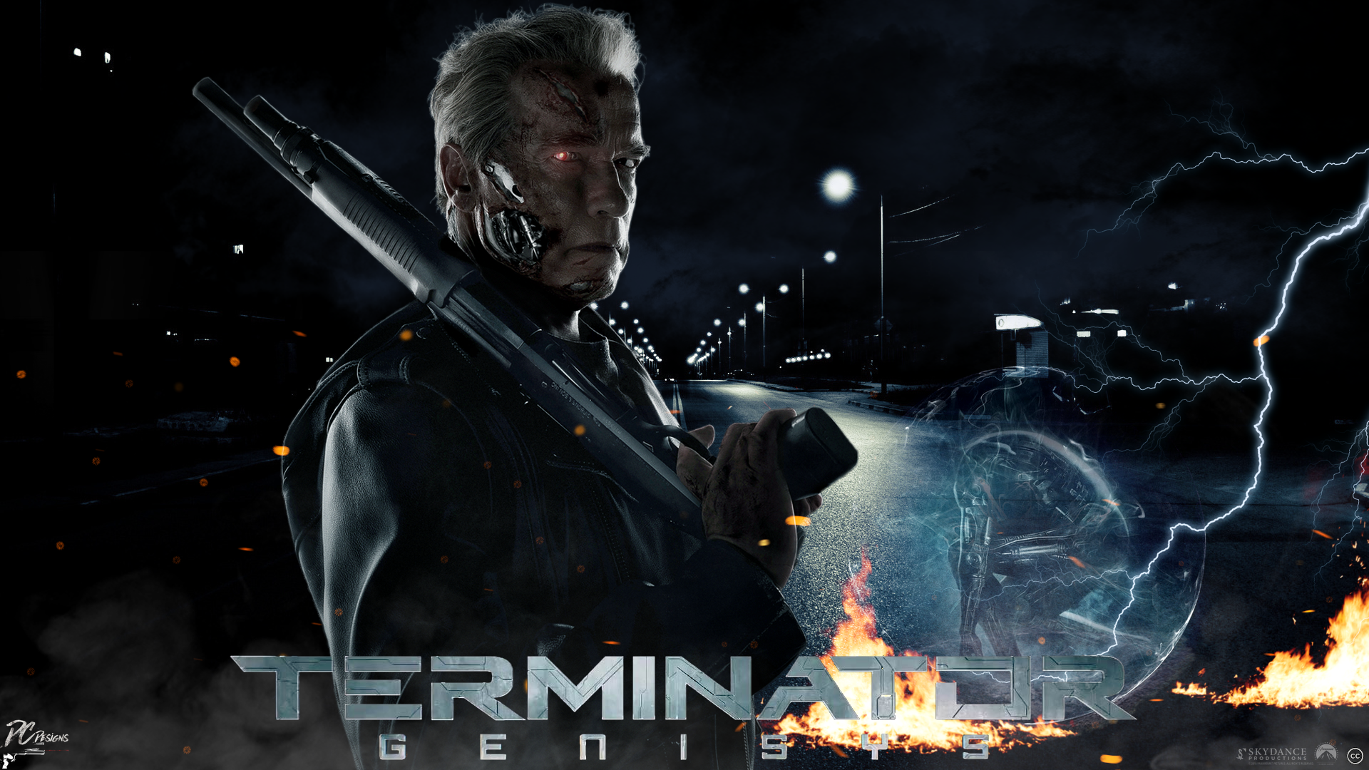 35 Terminator Genisys HD Wallpapers Background Images 1920x1080