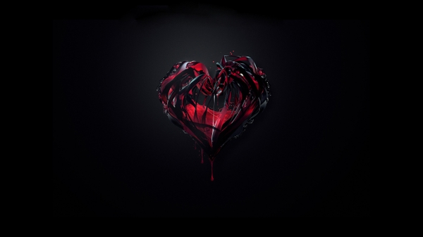 blacklove love black hearts 2560x1440 wallpaper Black Wallpapers 600x337
