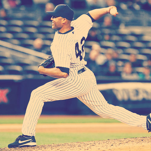 Mariano Rivera Pitching Stance Wallpaper For LG Optimus