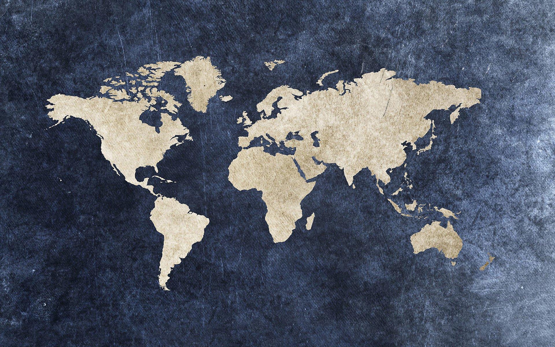Travel Map Wallpaper 4...