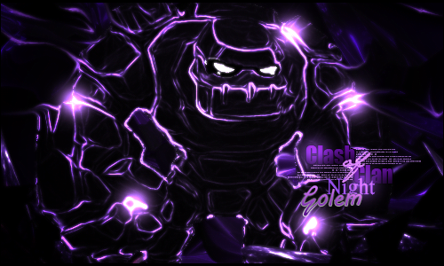 clash of clans golem wallpaper 4 by dotageekscom 500x300