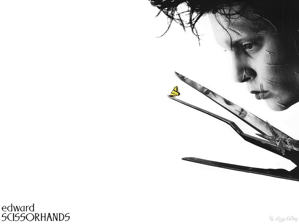 essay on edward scissorhands Edward scissorhands, written by tim burton, tells the tale of a young man who is lovable, childlike and sensitive, bewildered by the humanity around him, yet is.