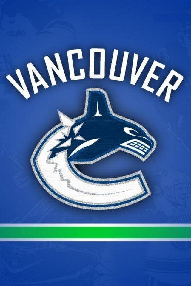 Vancouver Canucks NHL   Download iPhoneiPod TouchAndroid Wallpapers 640x960