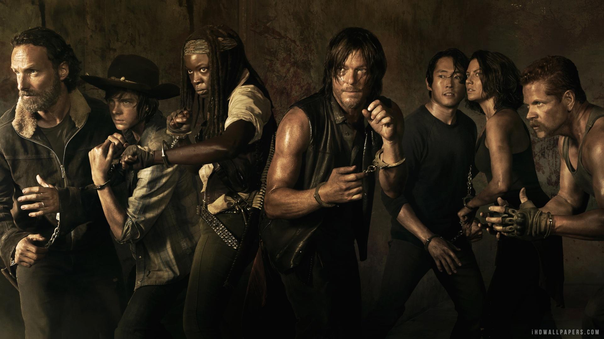 Free Download The Walking Dead Season 5 Poster Hd Wallpaper Ihd