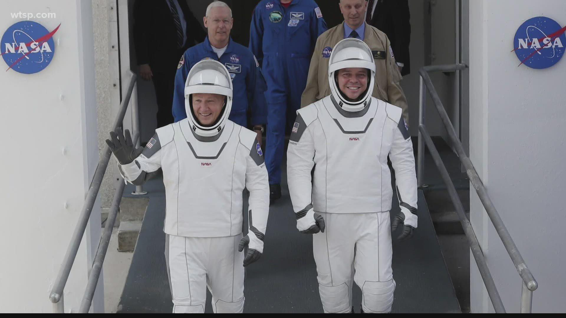 NASA SpaceX Crew Dragon Demo 2 crewed launch wtspcom 1920x1080