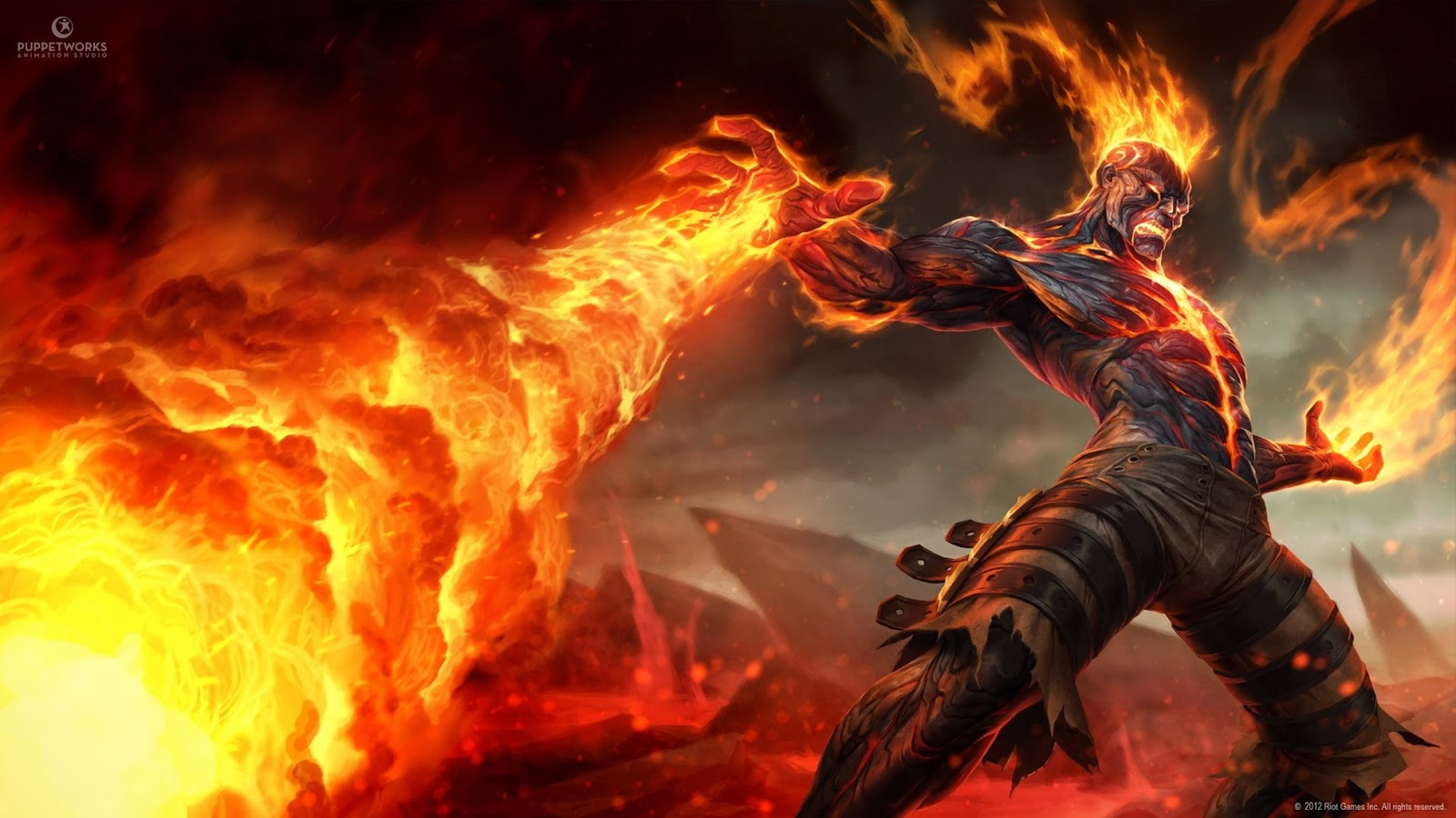 Mage Fire Online Computer Video Game HD Wallpaper Backgrounds b36 1600x900