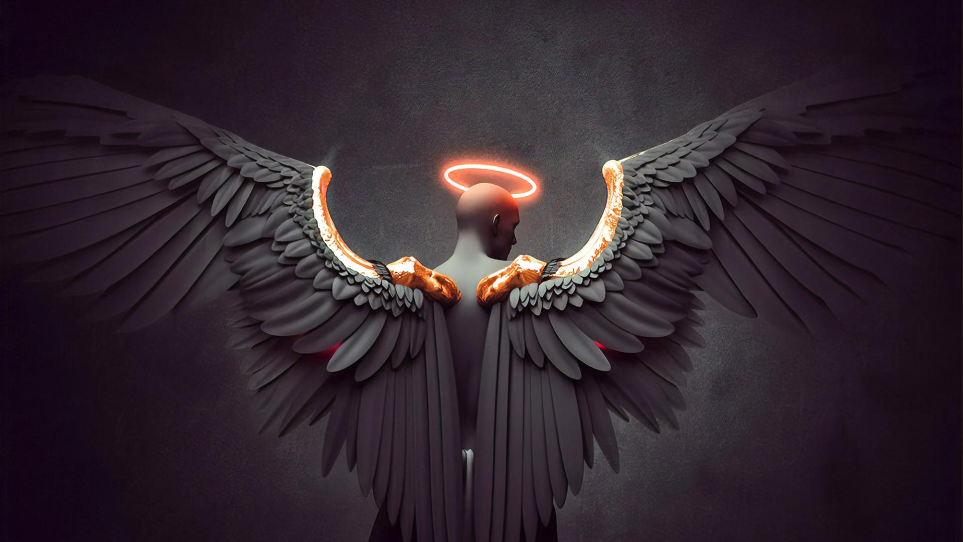Free Download Fantasy Angel Wings Hd Wallpaper Wallpaper
