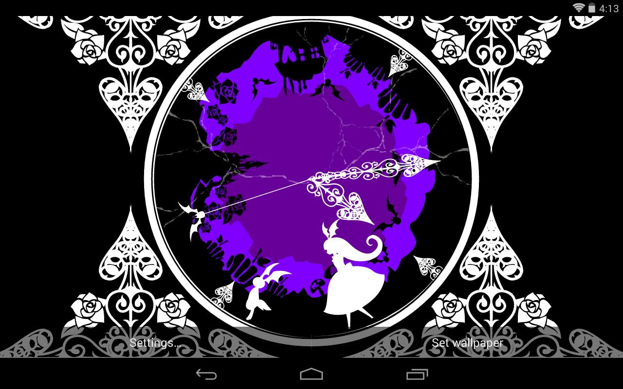 Alice In Wonderland Live Wallpaper Wallpapersafari