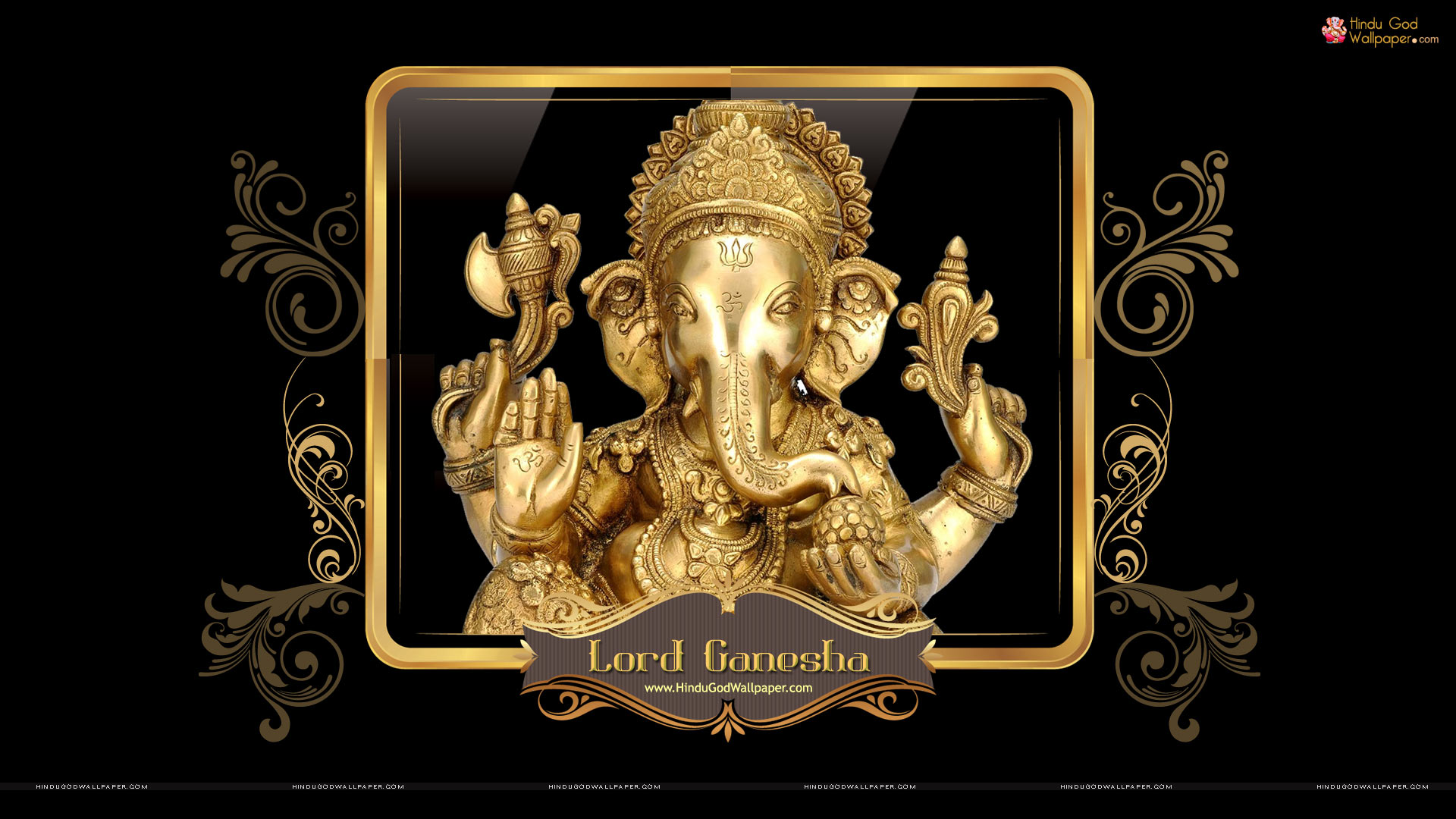 Lord Ganesha Hd Wallpapers: Hindu God HD Wallpapers 1080p
