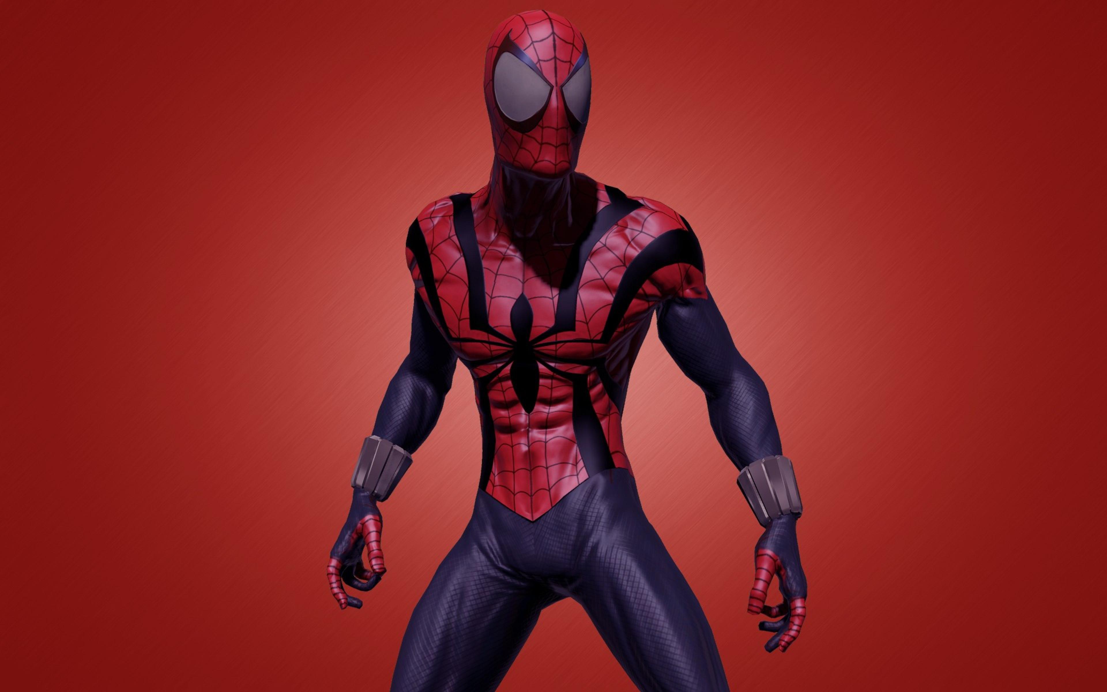 Download Wallpaper 3840x2400 Comics Marvel Spider man Ultra HD 4K HD 3840x2400