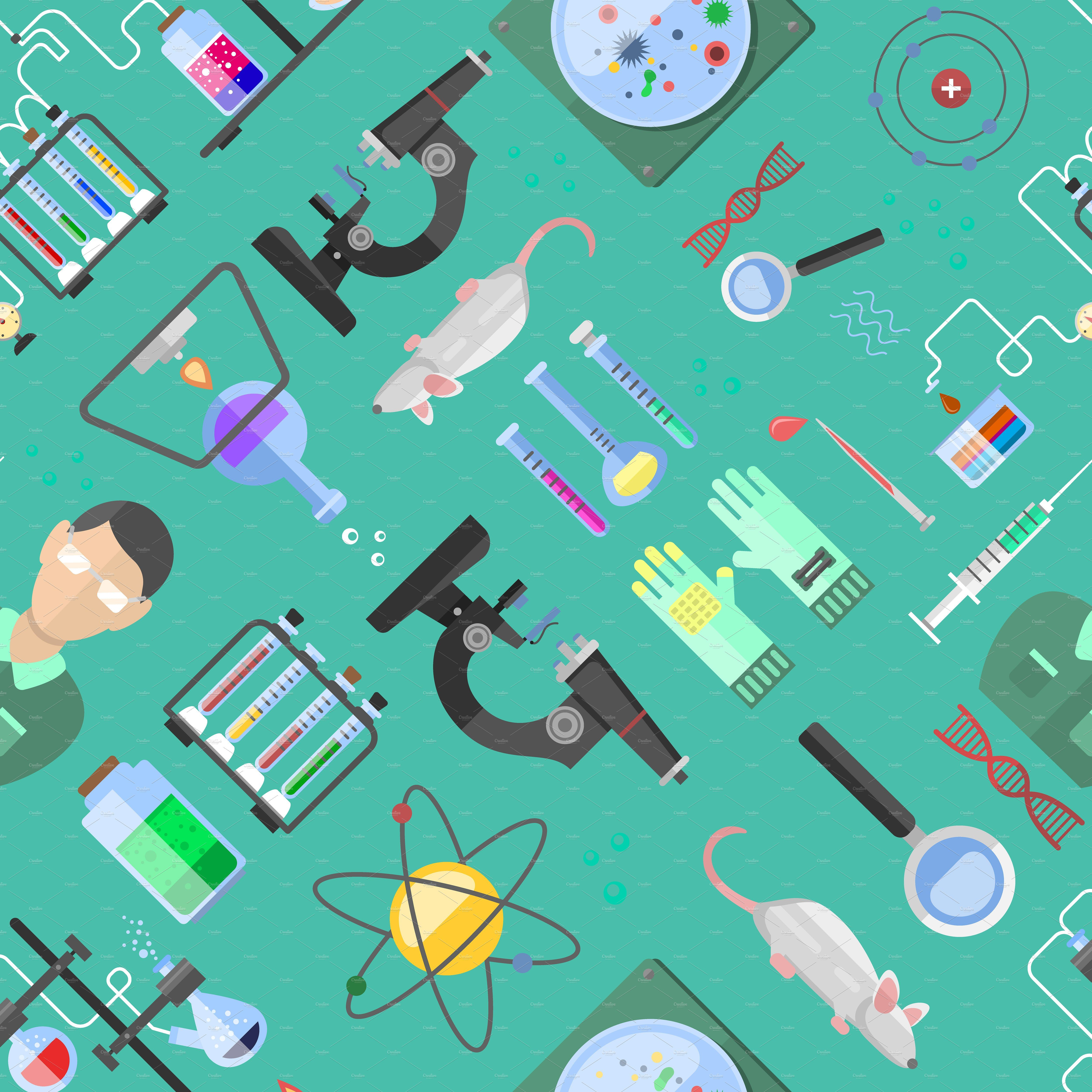 Science background biology vector by RocketArt on creativemarket 5000x5000