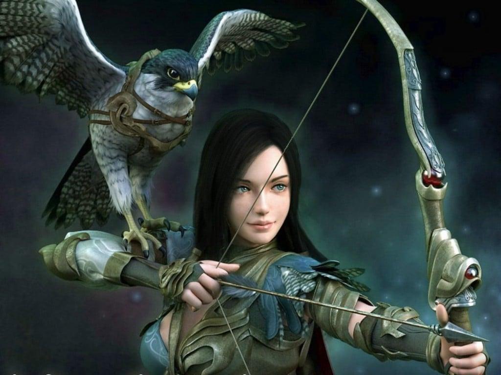 Girls Fantasy Art Wallpaper Warrior Girl Female Warriors Photo 1024x768