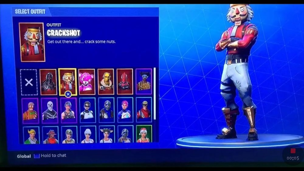 Fortnite BattleRoyale Account Recon Expert and Skull Trooper 1000x563