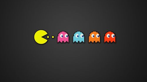 Pacman Iphone 6 Wallpaper Hd: Pacman HD Wallpaper