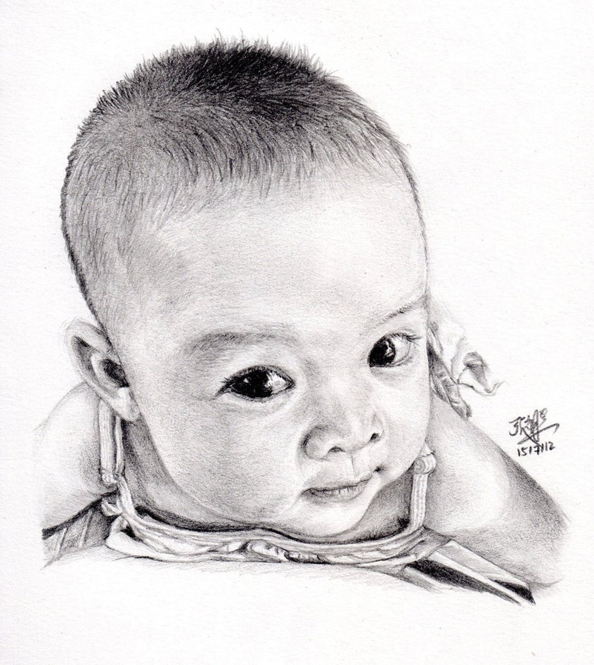 Download Pencil Sketches Of Babies Photos Wallpapers Images Pics