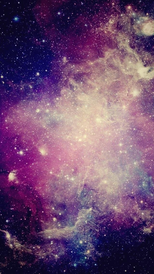 la galaxy iphone wallpaper wallpapersafari