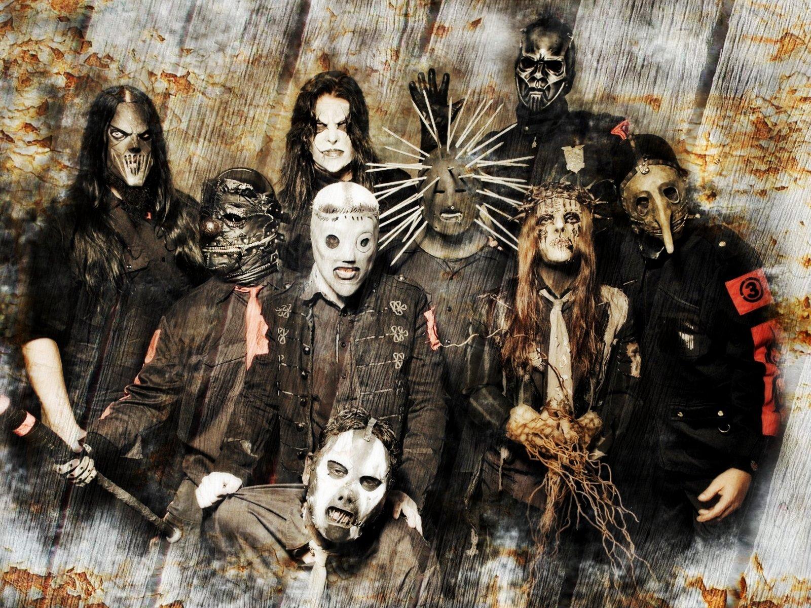 Papel de Parede Slipknot Metal Wallpaper para Download no Celular ou 1600x1200