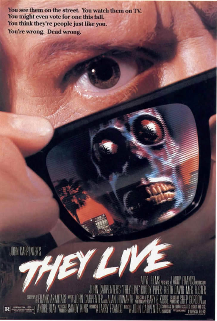 THEY LIVE   Alien Invasion B Movie Posters 729x1080