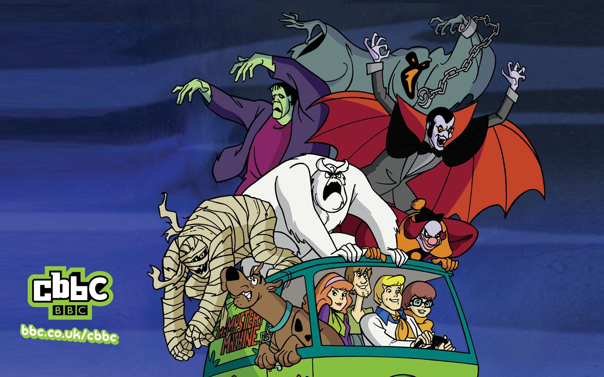 Whats New Scooby Doo Scooby and Gang Wallpaper 1920x1200