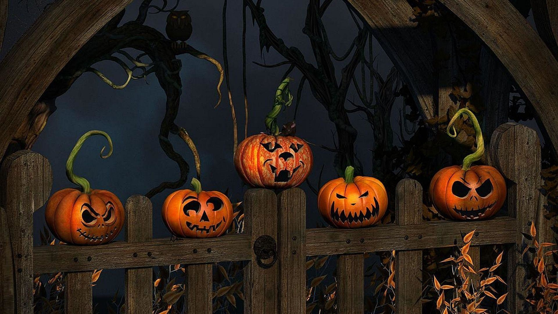 77 Halloween Wallpapers on WallpaperPlay 1920x1080