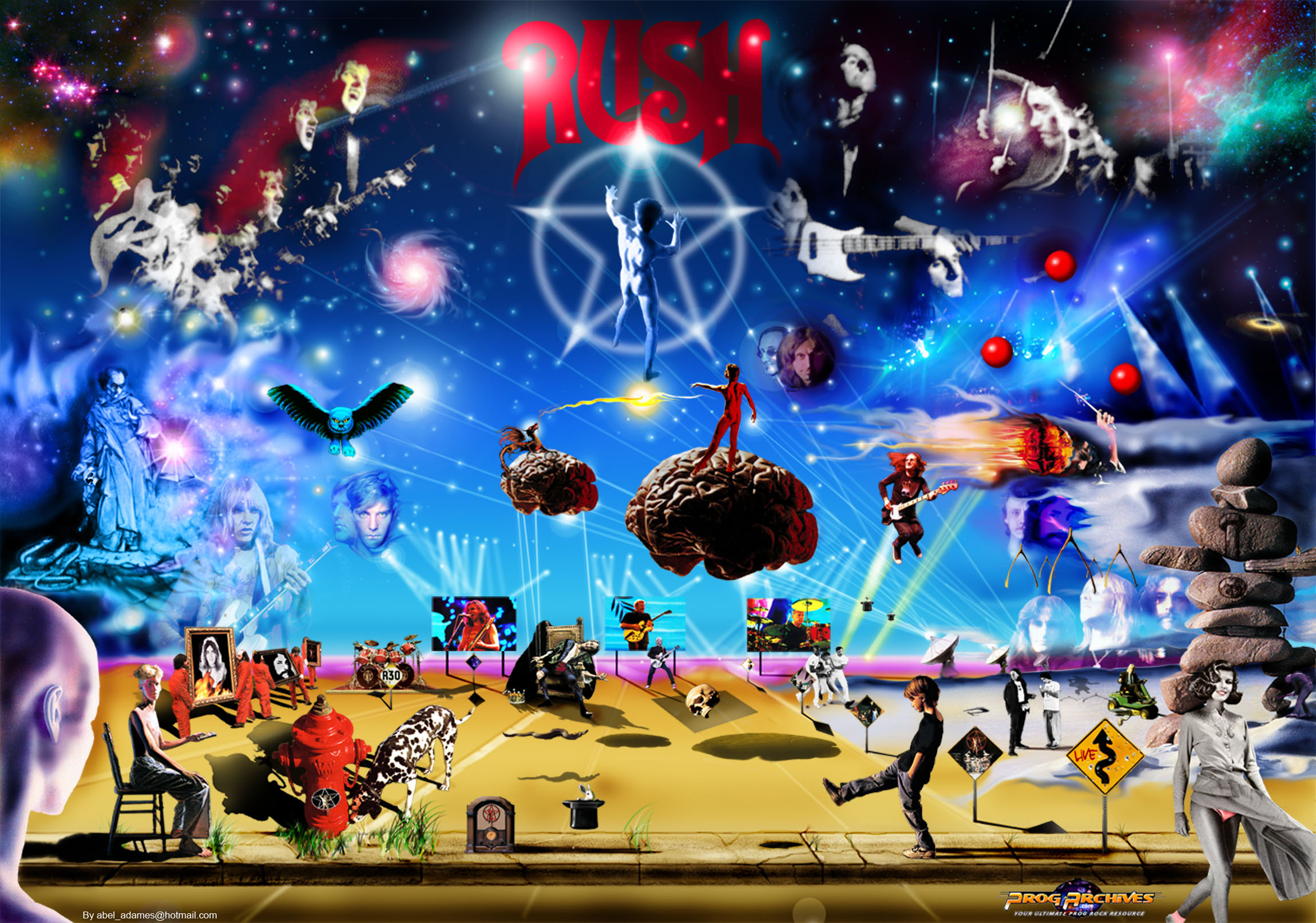 rush band wallpaper   wallpapersafari