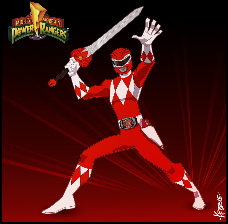 Mighty Morphin Power Rangers Wallpaper: Red Power Ranger Wallpaper