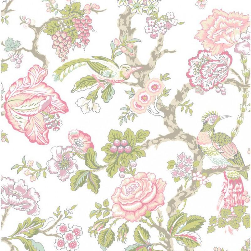Waverly Wallpaper Roses