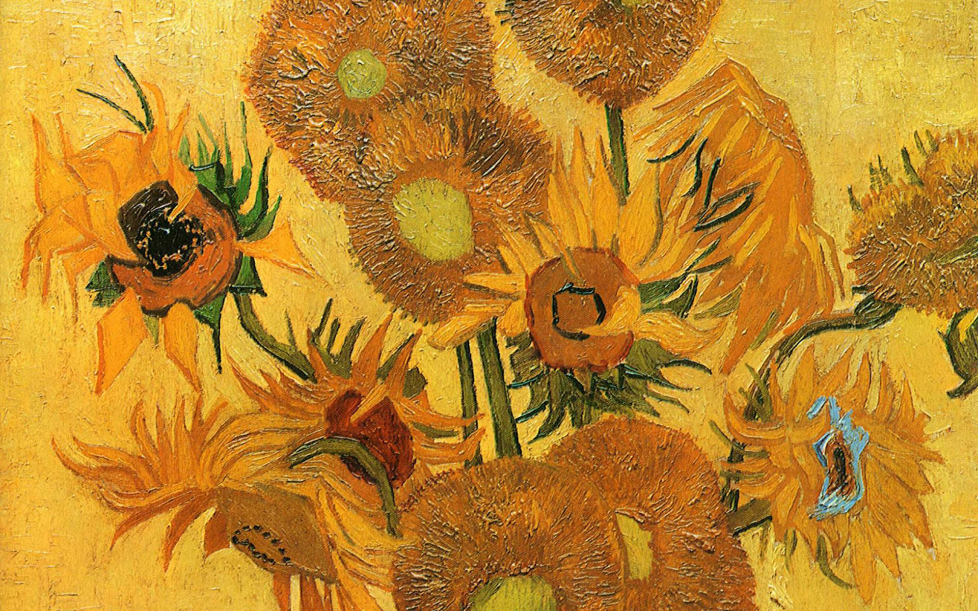 Drawn wallpapers   Paintings Famous painting of Vincent Van Gogh 1920x1200