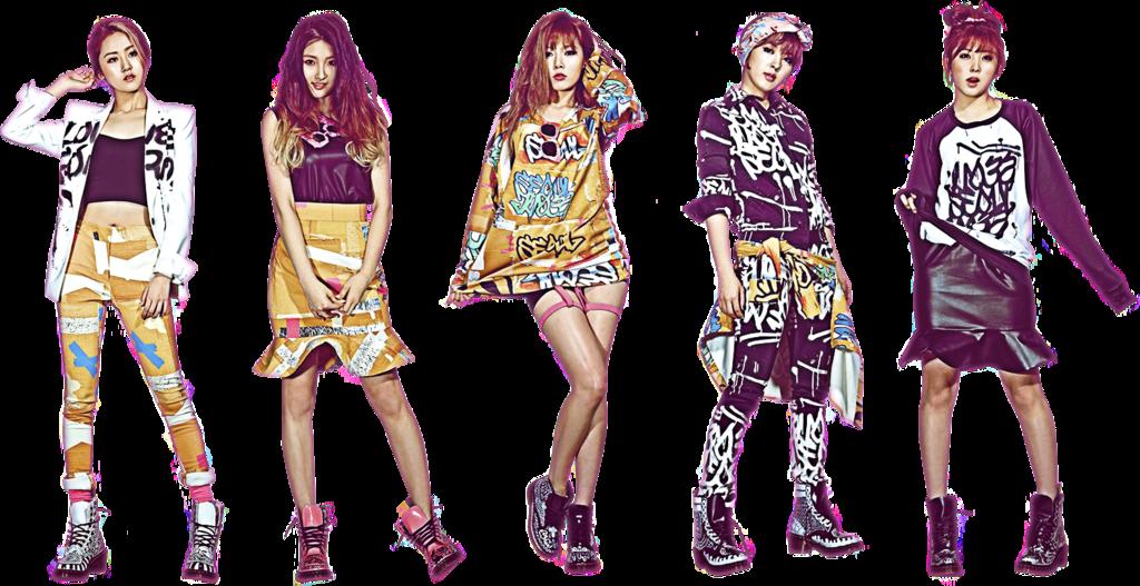 4Minute Wallpaper HD 2014   Kpop Wallpaper Collection 2014 1024x527