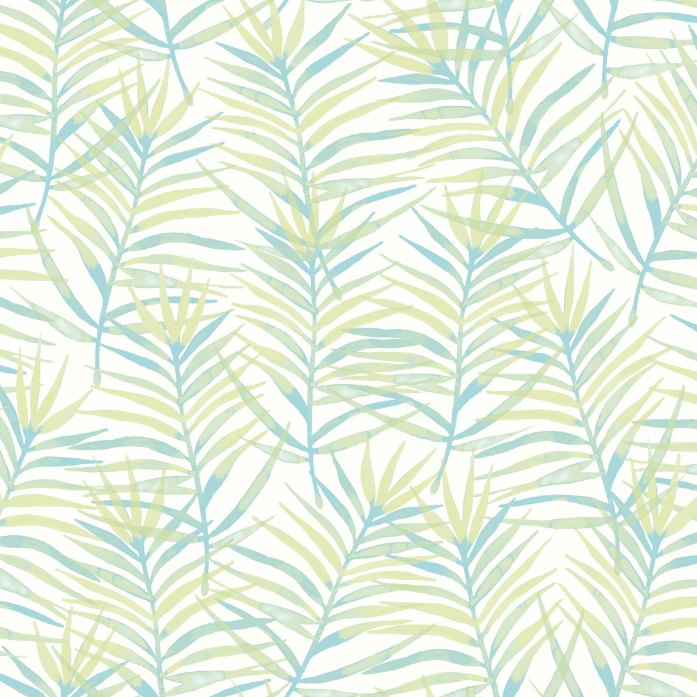 Palm Leaf Pattern Tropical Floral Motif Metallic Wallpaper 208900 1000x1000