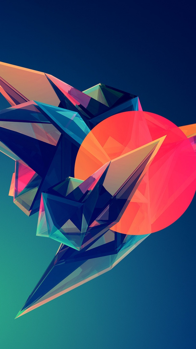 Free Download Digital Art Hipster Triangle Post Modern Abstract