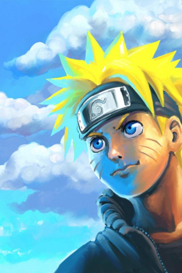 Uzumaki Naruto Simply beautiful iPhone wallpapers 640x960