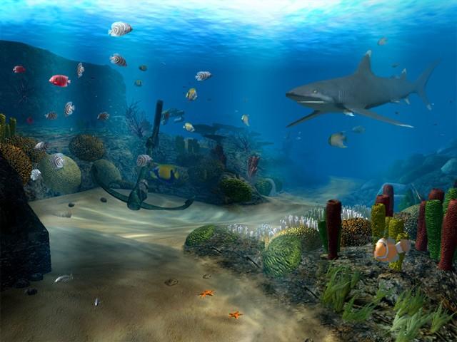 OceanDive 10 download   Screensavers   Desktop Enhancements 640x480