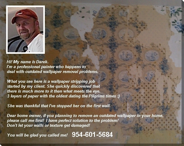Wallpaper Removal in Miami and Fort Lauderdale FL   Wallpaper 599x478