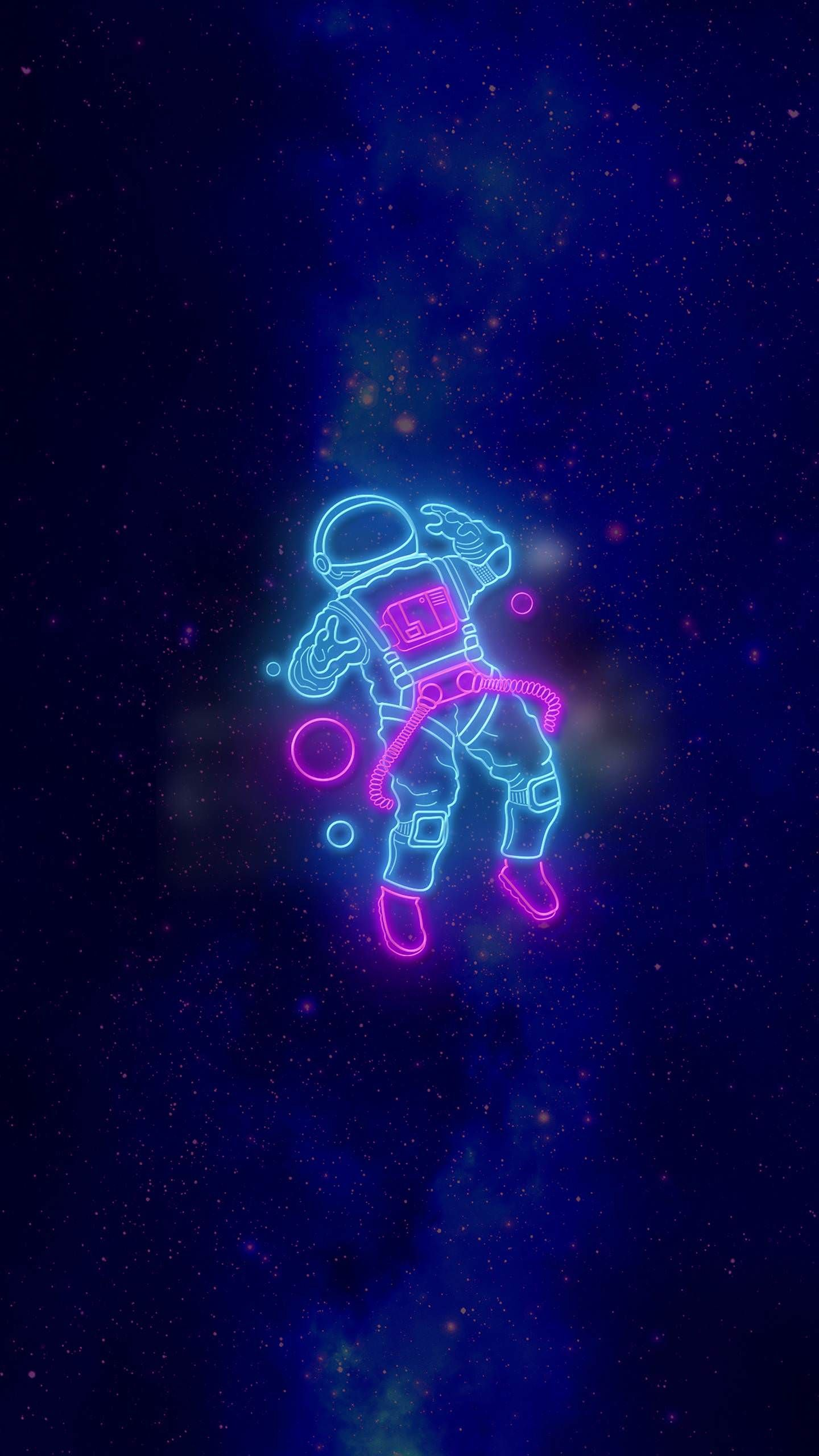 Neon Astronaut Wallpaper iphone neon Astronaut wallpaper Neon 1440x2560