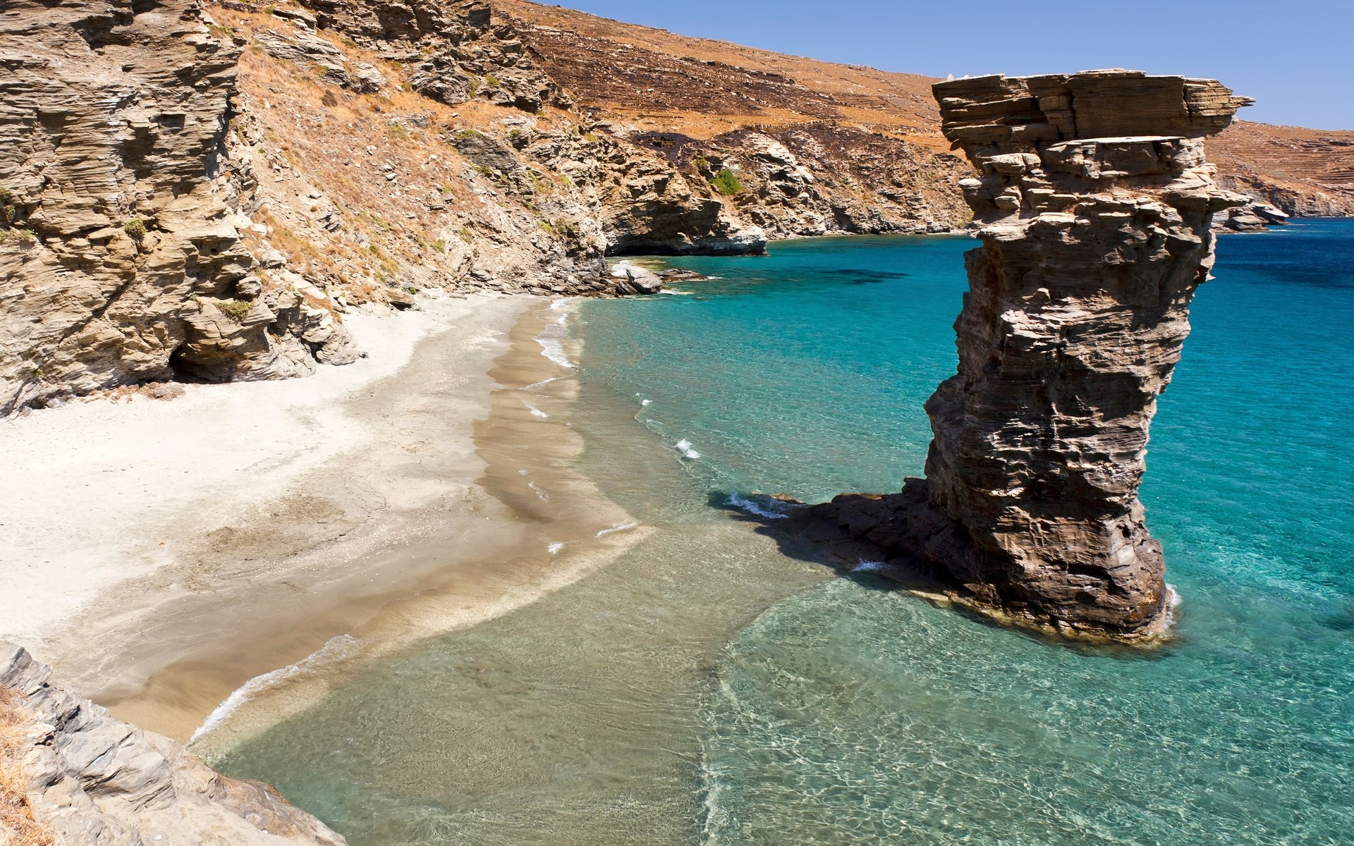 Andros Refined yet rustic Discover Greece 1920x1200