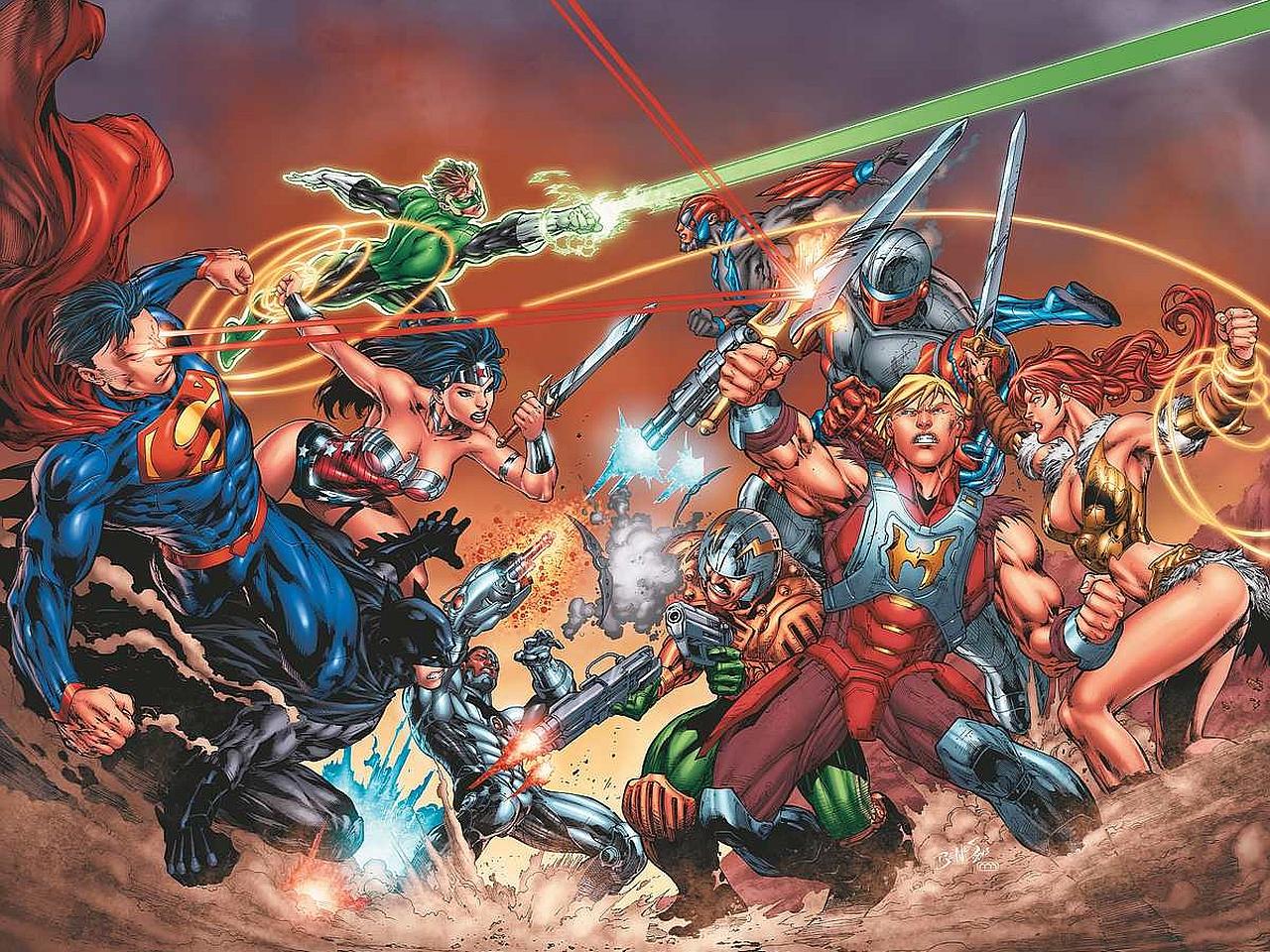 Free Download Comics Dc Universe Vs The Master Of The Universe