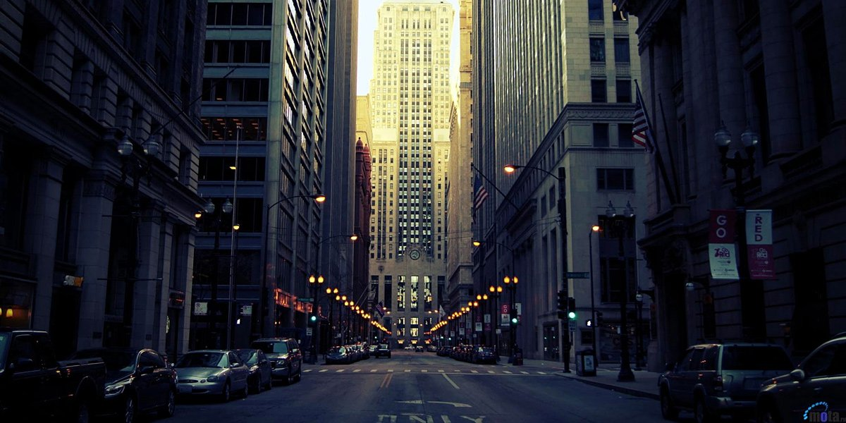 Chicago Buildings Twitter Cover Twitter Background TwitrCovers 1200x600