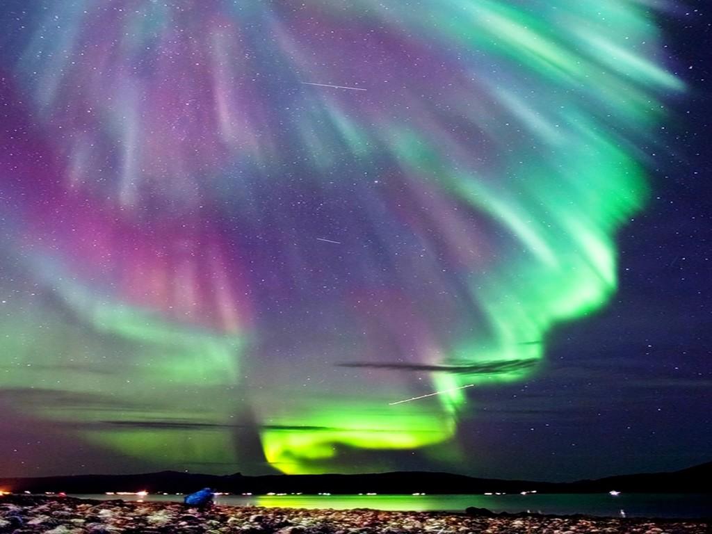 Pics Photos - Northern Lights Wallpaper