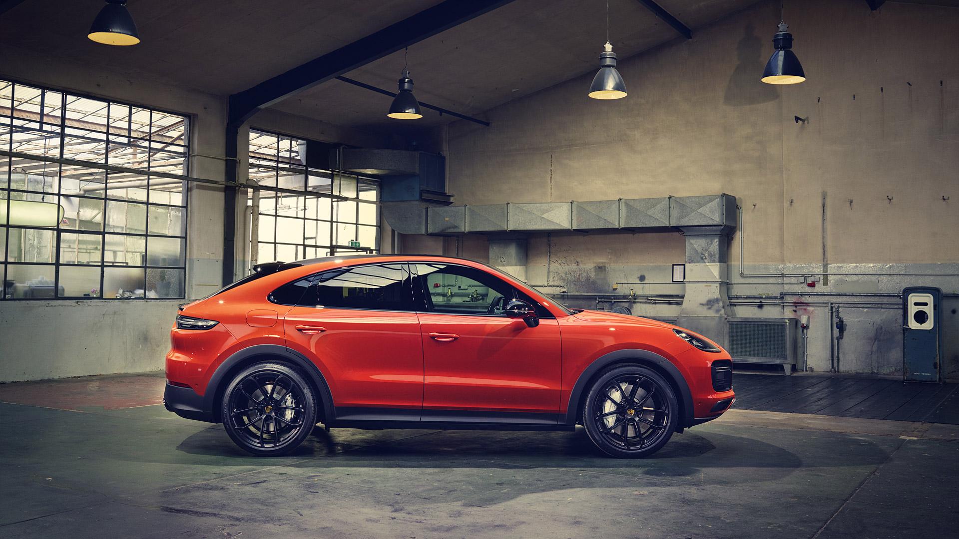2020 Porsche Cayenne Turbo Coupe Wallpapers Specs Videos   4K 1920x1080