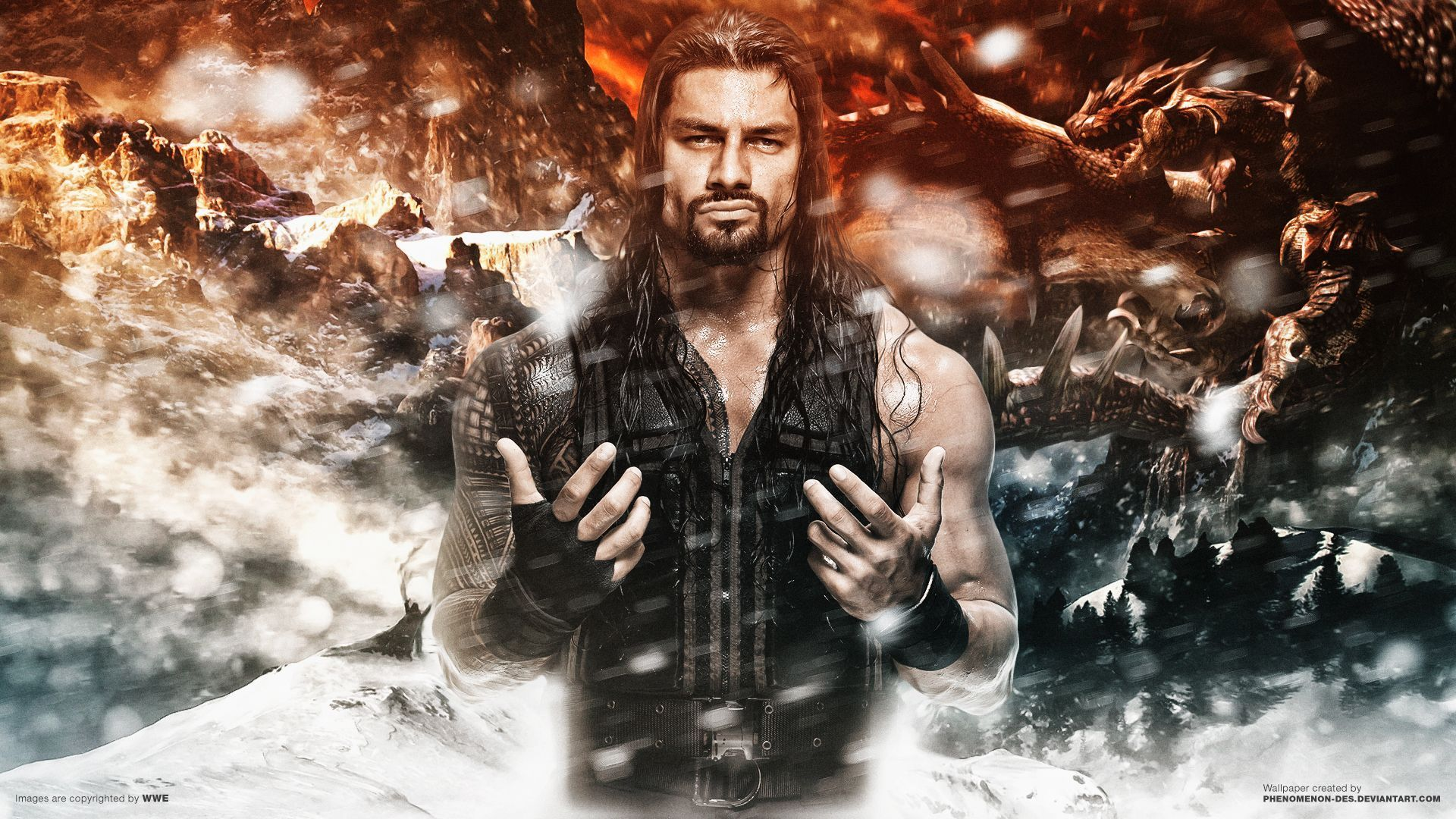 Roman Reigns Championship Wallpapers 1920x1080