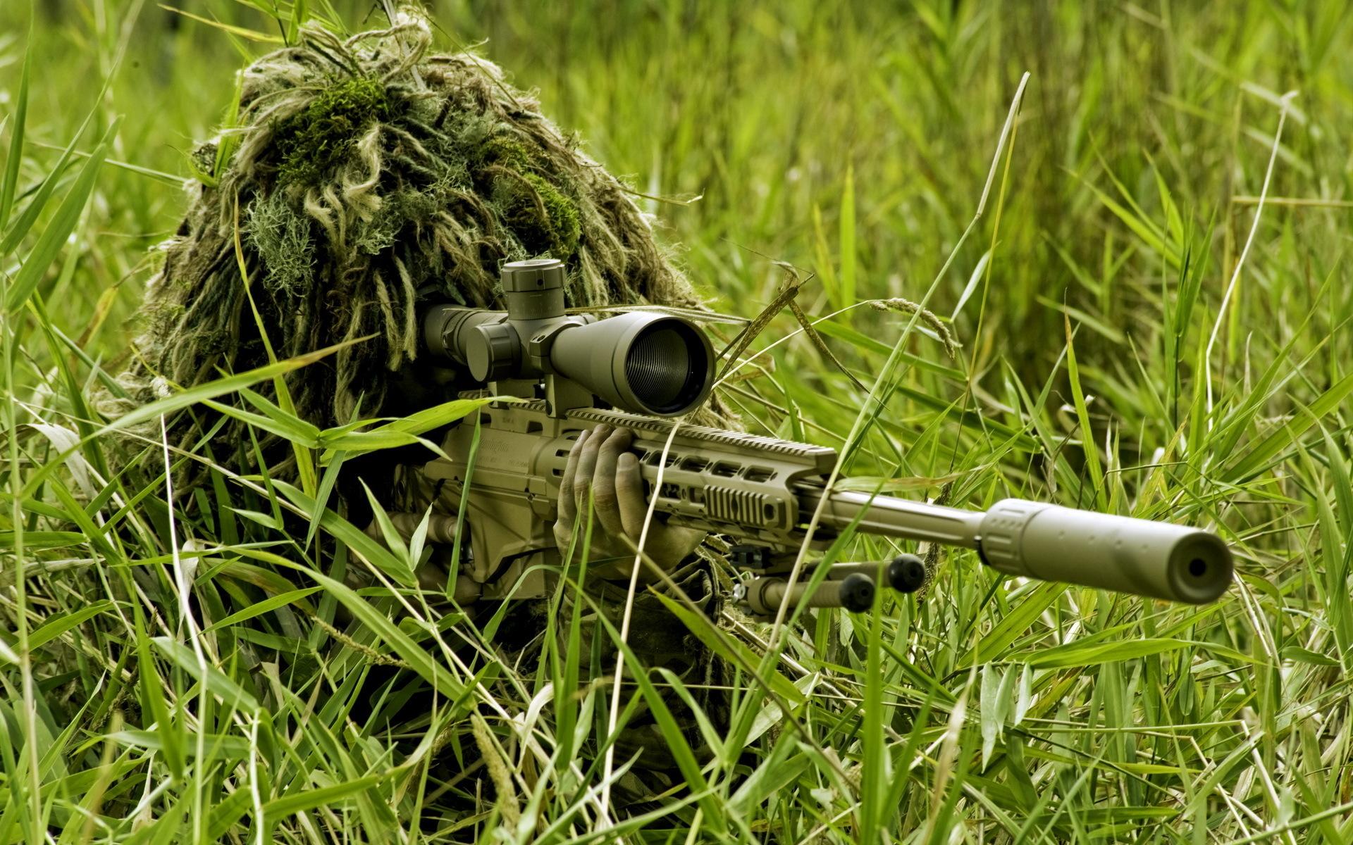Sniper at work Computer Wallpapers Desktop Backgrounds 1920x1200 1920x1200