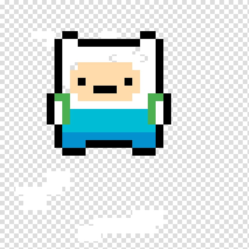 Pixel art Jake the Dog 8 bit color finn balor transparent 800x800