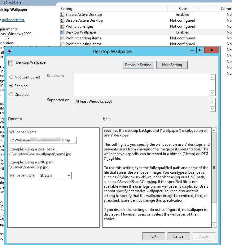 GPO wallpaper desktop do not applied on windows 10 1903 749x790