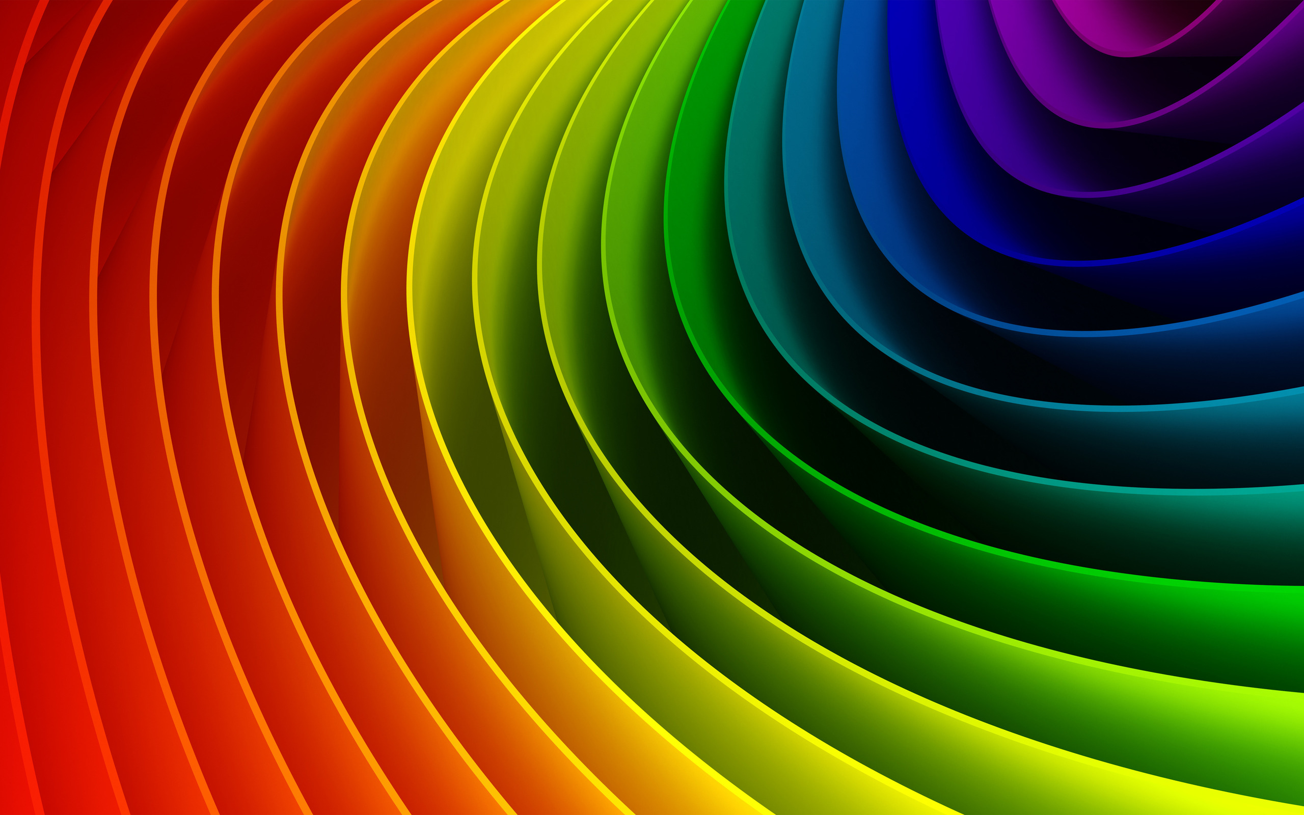 Color spectrum wallpapers and images   wallpapers pictures photos 2560x1600